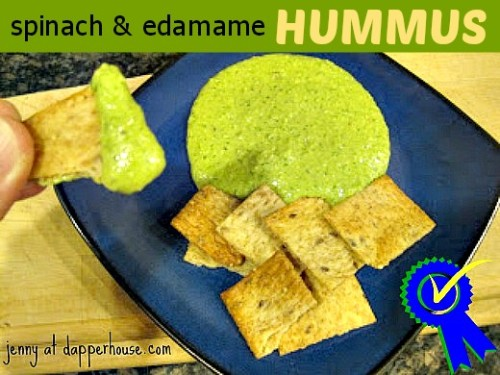 edamame, hummus, spinach, beans, recipe, healthy, foods cooking vegetarian @dapperhouse
