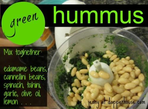 #green #hummus #spinach @dapperhouse #recipe