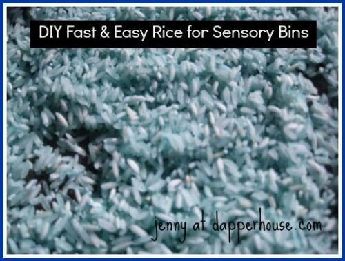 DIY Sensory Bin Fast Easy Tutorial
