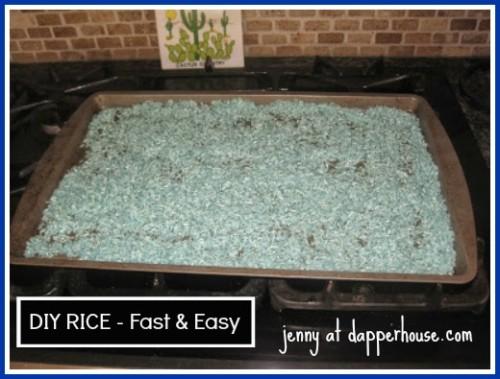 DIY rice sensory Bin #tutorial #kids #crafts #education #toys