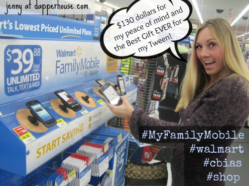 #FamilyMobileService #cbias #shop @dapperhouse #walmart #unlimited #talk #text #web lowest prices #tween #gift