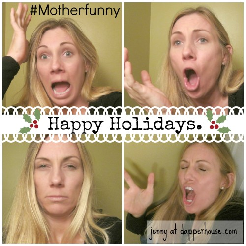 #Motherfunny happy holidays #shop @dapperhouse #emptions