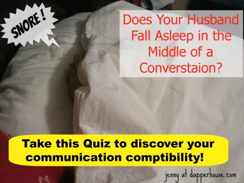 Couples Communication Compatibility Quiz