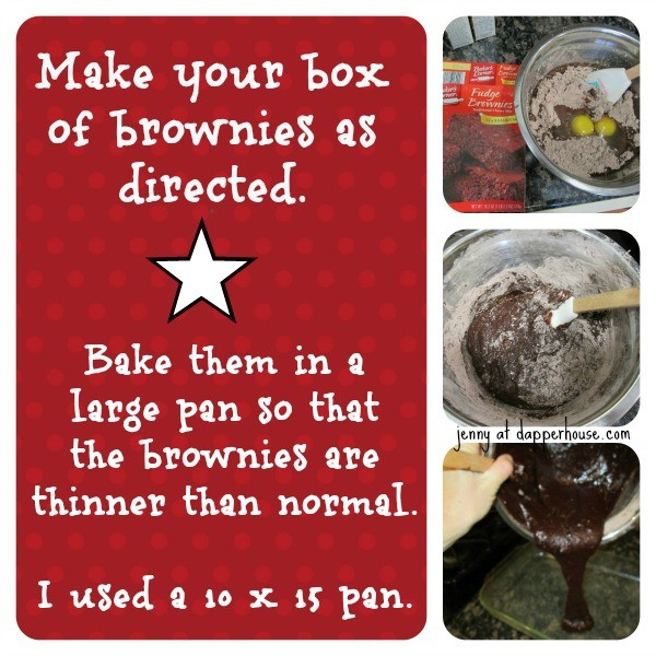 make boxed brownies normally then make cream cheese cashew filling @dapperhouse