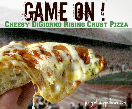It is GAME ON WIth DiGiorno Rising Crust Pizzas #GameTimeGoodies #shop #cbias