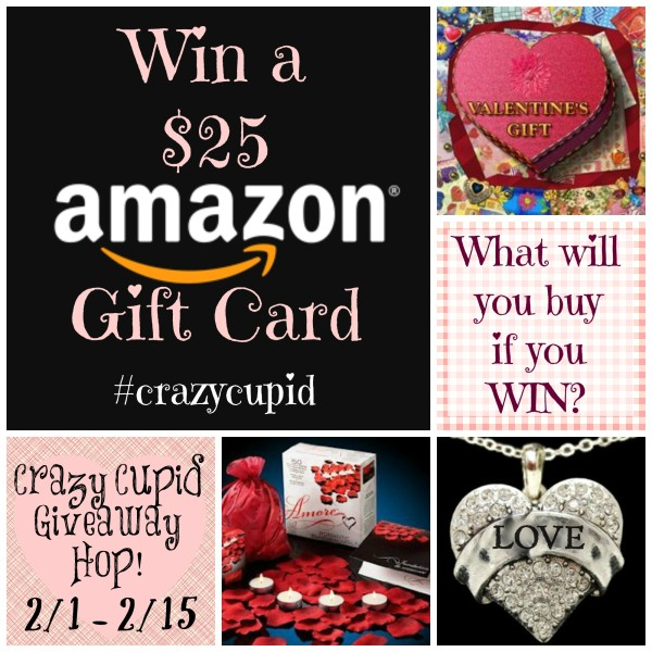 Valentines Day Crazy Cupid Giveaway Amazon Gift Card @dapperhouse #CrazyCupid
