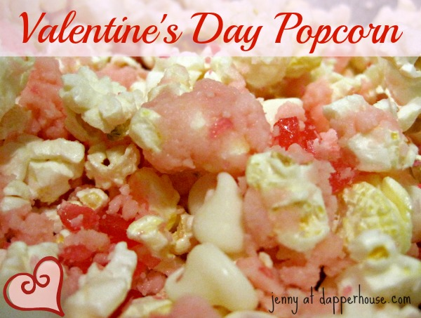 Valentines day popcorn to make with older children #recipe Chocolate Cinnamon
