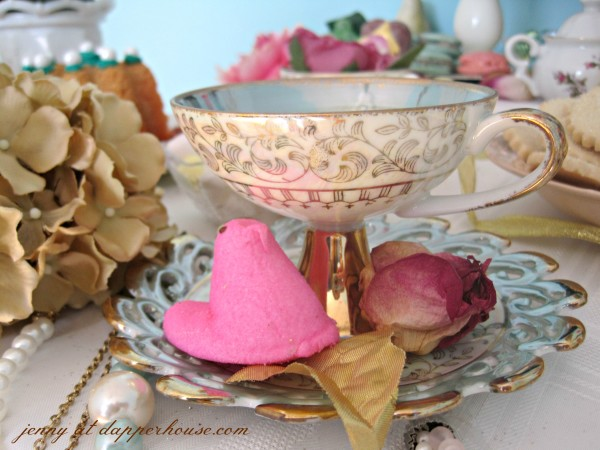 DIY Afternoon tea party inspired by Marie Antoinette @dapperhouse vintage chic tea cup