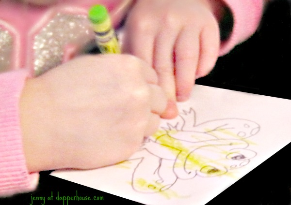 DIY song and craft activity for fun and learning 5 little speckled frogs @dapperhouse