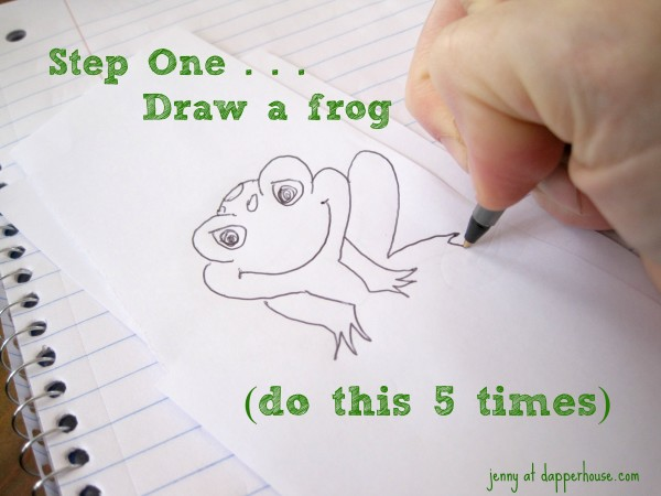 Five little speckled Frog Song and Craft Activity with Free Printables or DIY @dapperhouse
