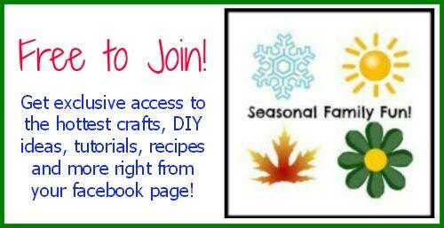 Free to Join Seasonal Family Fun Ideas Exclusive Facebook Group