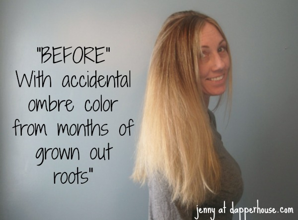 The Accidental Ombre and Color with Madison Reed at Home #MRHairColor