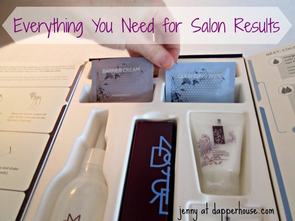 Everything you need for salon results at home with Madison Reed @dapperhouse