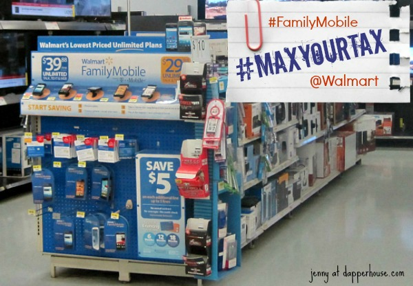 Finally a Truly Affordable Cell Phone & Unlimited Wireless Plan @Walmart #FamilyMobile #MaxYourTax @dapperhouse #shop #cbias