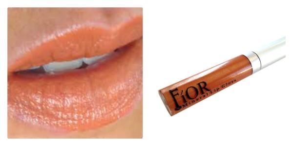 Fior Mineral Cosmetics Orange Crush All Natural Vegan lip gloss
