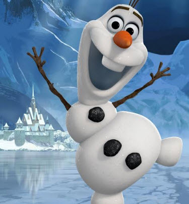 picture regarding Olaf Printable Cut Out called Disneys Frozen Video Do it yourself Olaf PreK Craft Sing-a-extended Absolutely free