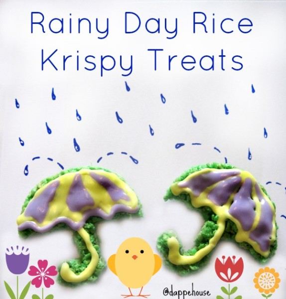 Rainy Day Rice Kriapy treats foodtivity for the kids! @dapperhouse