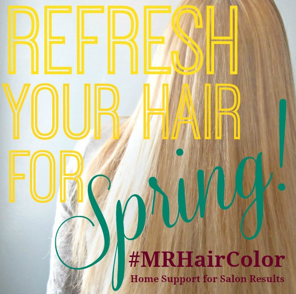 Refresh your hair for spring #MRHairColor Home Support for Salon Results Madison Reed @dapperhouse #ad