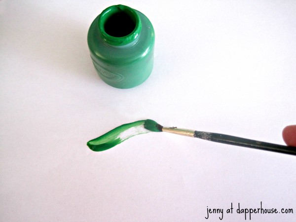 green paint @dapperhouse