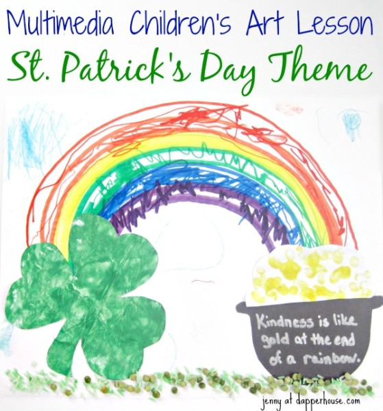 st patricks day multimedia childrens art lesson and activity image 1 @dapperhouse