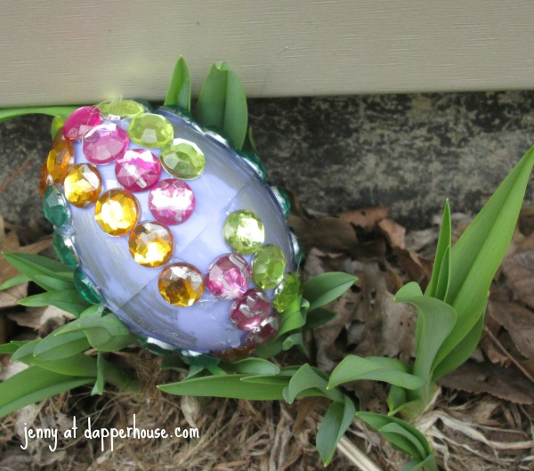 DIY Easter Egg Craft for the Family Fancy Faberge Inspired Eggs @dapperhouse