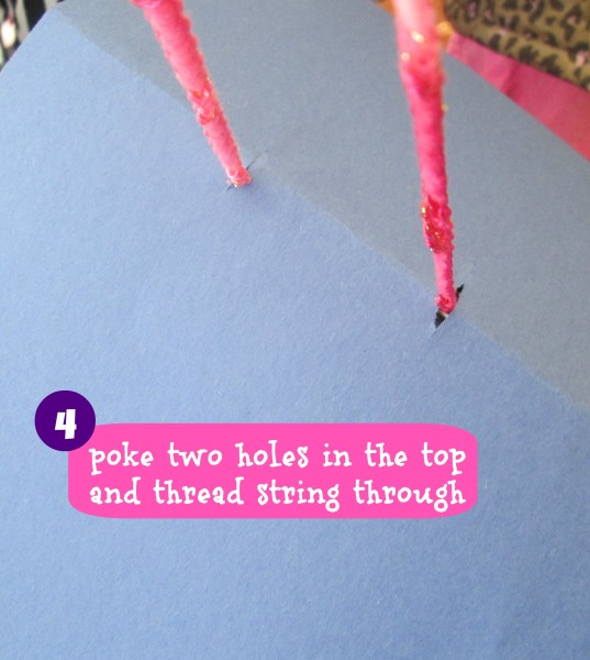 DIY Easy kids craft bird house @dapperhouse Step 4