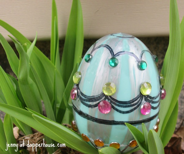 DIY Faberge Easter Egg Craft for the family @dapprhouse