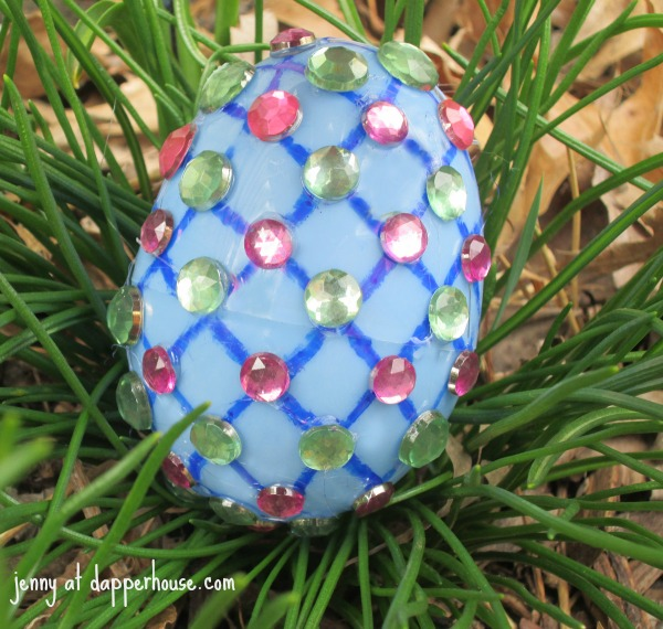 DIY Faberge Easter Eggs Craft for Kids @dapperhouse