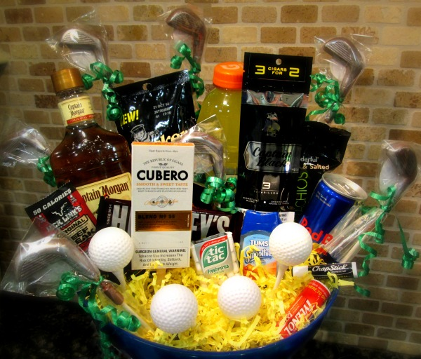 How to Create a Cool Guys Golf Weekend Gift Basket featuring #CuberoLuxury #PMedia #ad @Walmart @dapperhouse
