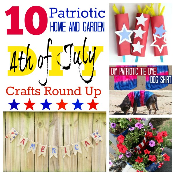 10 Patriotic DIY Crafts & Decor for 4th of July @dapperhouse Round Up Post