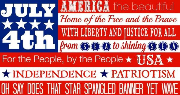 Free Patriotic Printables For Home Decor