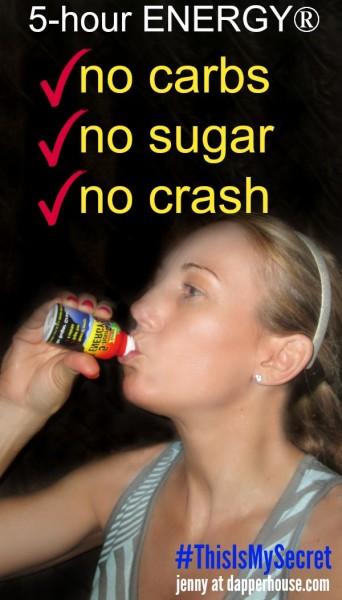 5-hour ENERGY®  #ThisIsMySecret no carbs no sugar no crash only 4 calories @dapperhouse #shop #CollectiveBias
