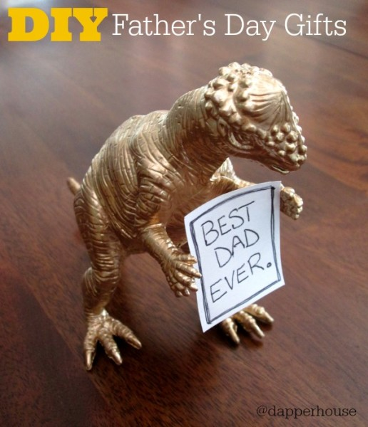DIY Father's Day Gifts for Dad @dapperhouse fun and easy to make at home