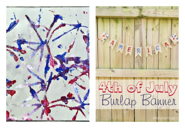 DIY Patriotic Crafts Round Up @dapperhouse for 4th of July
