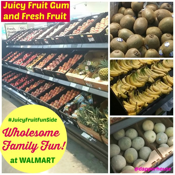Head to @walmart for some New #JuicyFruitFunSide Gum and fresh fruit for some wholesome fun with the family #cbias #shop @dapperhouse