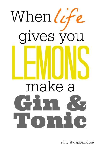 Lemons Summer Quote