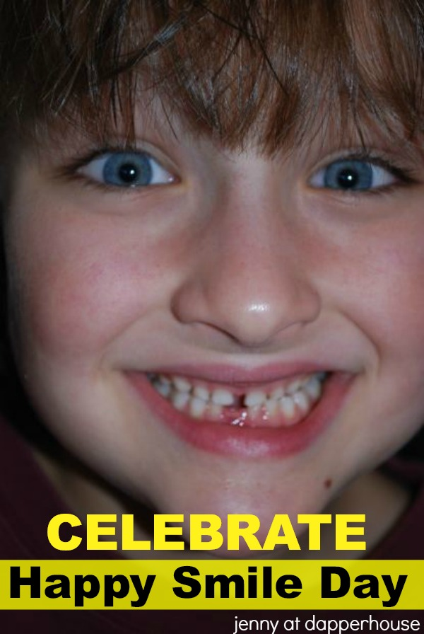 Celebrate Happy Smile Day with Kids from jenny at dapperhouse