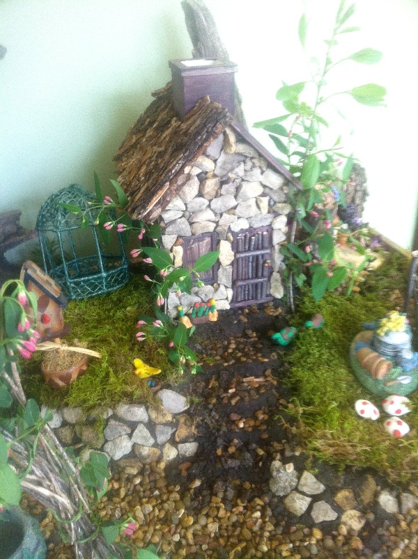 DIY Fairy Garden How to and Ideas jenny at dapperhouse