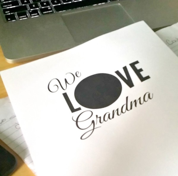 Free Printables for gifts to grandma @dapperhouse