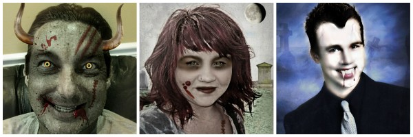 Happy Haunted Halloween from Jenny at dapperhouse AND how to horrify your family pics with picmonkey