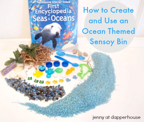 How to create your own sensory bin and use it for early childhood education @dapperhouse