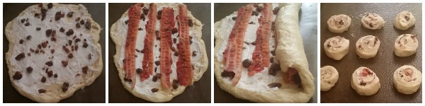 How to make a super easy #momhack #recipe version of goat cheese, dates and prosciutto pinwheels @dapperhouse
