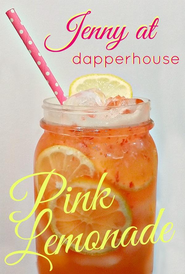 Jenny at dapperhouse Original and New Pink Lemonade Recipe @dapperhouse