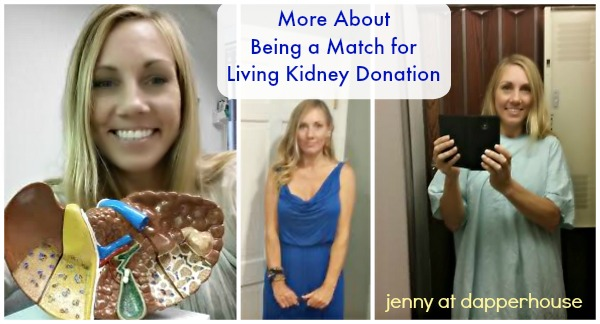 More about being a living kidney donor and being a match @dapperhouse