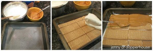 No bake Fall Comfort Layer Cake #recipe jenny at dapperhouse