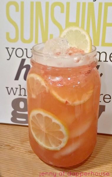 Special Pink Lemonade Recipe new and original @dapperhouse
