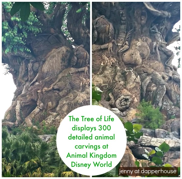 The circle of life is depicted in this tree with 300 animal engravings @dapperhouse Disney World Animal Kingdom