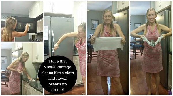 Viva® Vantage cleans everything in my home like a cloth and doesnt break up on me @dapperhouse #sp