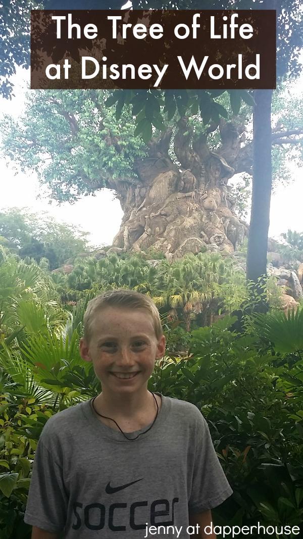dapperhouse does Disney World The Tree of Life Animal Kingdom