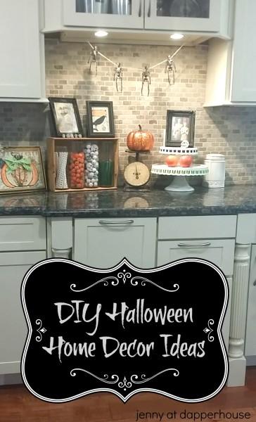 DIY Halloween Home Decor Ideas from Jenny at dapperhouse